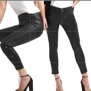 Mid Rise High Stretch Inner Cozy Jeggings